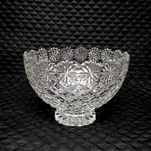 Crystal Bowl Centerpiece